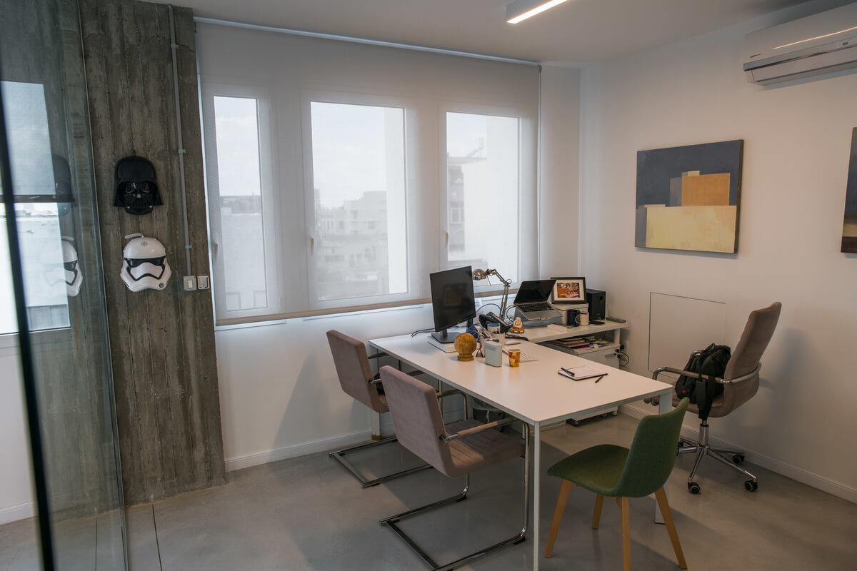 וילונות למשרד | וילונות מעוצבים למשרד